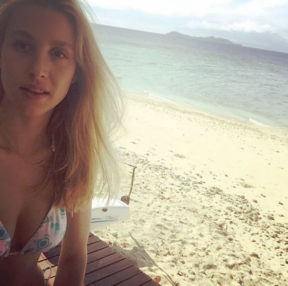 """3. Don't be too proud to get a selfie stick. """"Yes, we brought a selfie stick (it was a gift) and yes, I broke it on the first day. But nothing's gonna ruin our time!"""" Whitney Port wrote this photo's caption. Too right Whitney!"""