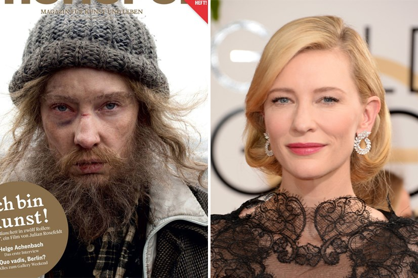 Cate Blanchett made us all pull a total 180 when she appeared on the cover of Monopol Magazine looking a little worse for wear.