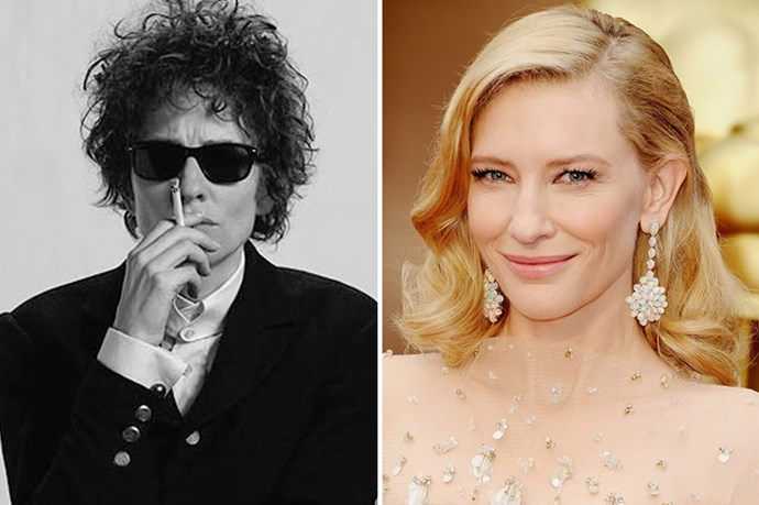 But it's not the first time she's done it. The actress scored an Oscar nom for playing Bob Dylan in <em>I'm Not There</em>.