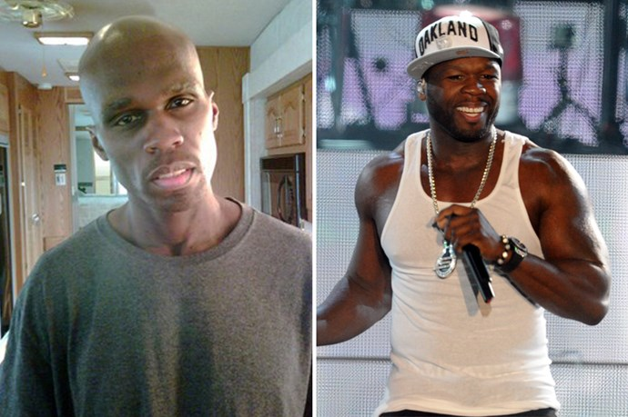 50 Cent reportedly dropped 25 kilos to play a cancer sufferer.