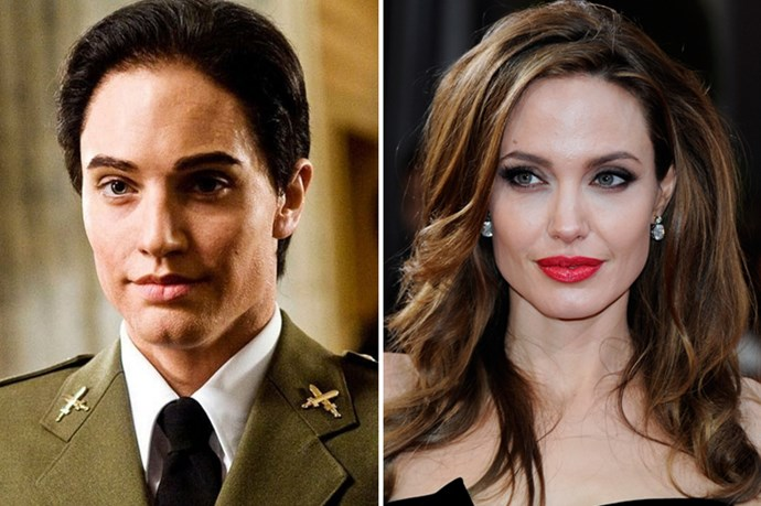 Angelina Jolie transformed herself from bombshell to bloke in <em>Salt</em>.