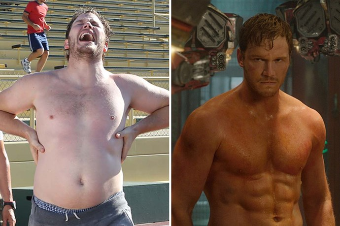 Damn. Chris Pratt leveled up for <em>Guardians of the Galaxy</em> big time.