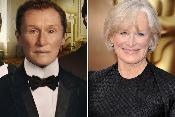 Glenn Close gender-bended for <em>Albert Nobbs. </em>