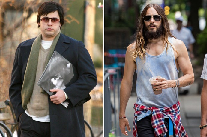 Jared Leto gained some major weight to play John Lennon's killer, Mark Chapman, in Chapter 27.