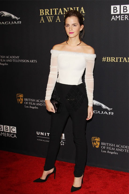 <strong>Emma Watson</strong> <br> <br> Emma is a constant source of sartorial goodness and she hasn't disappointed this year. She's opted for pants on the red carpet a couple of times and has absolutely NAILED it, looking as feminine as ever.