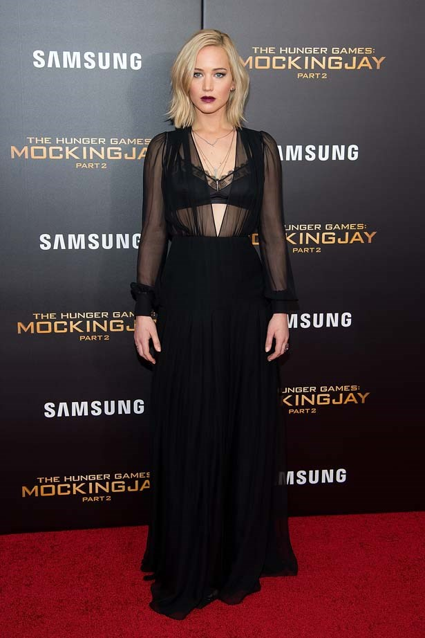 <strong>Jennifer Lawrence</strong> <br> <br> J-Law has stepped it up this year, especially very recently, on the press tour for <em>The Hunger Games: Mockingjay Part 2</em>- one gorgeous red carpet gown after the other, we simply couldn't pick a favourite.