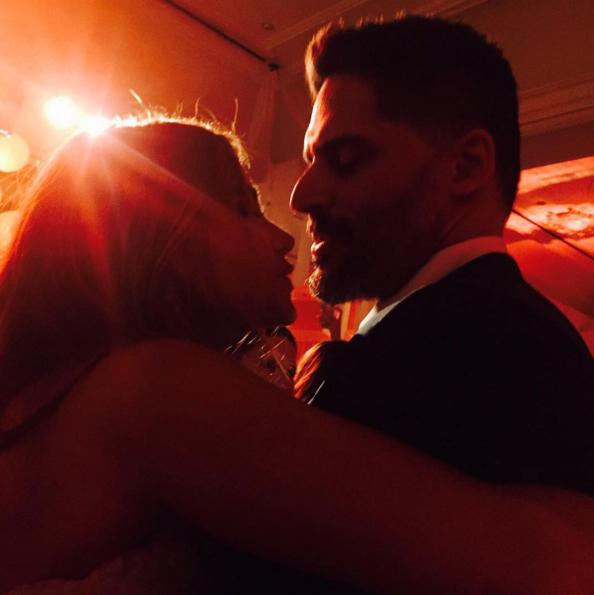 Sophia and Joe share a close moment on social media.
