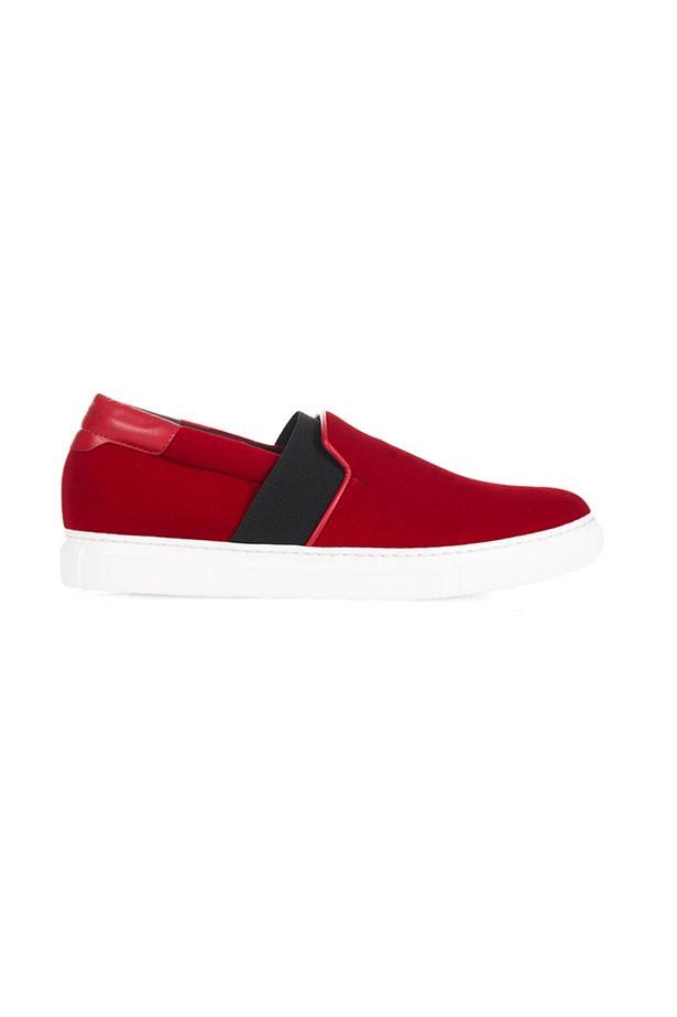 "Sneakers, $690, Balenciaga, <a href=""https://www.sneakerboy.com/shop-sneakers/balenciaga-womens-slip-on-fw15baln31.html"">sneakerboy.com</a>"