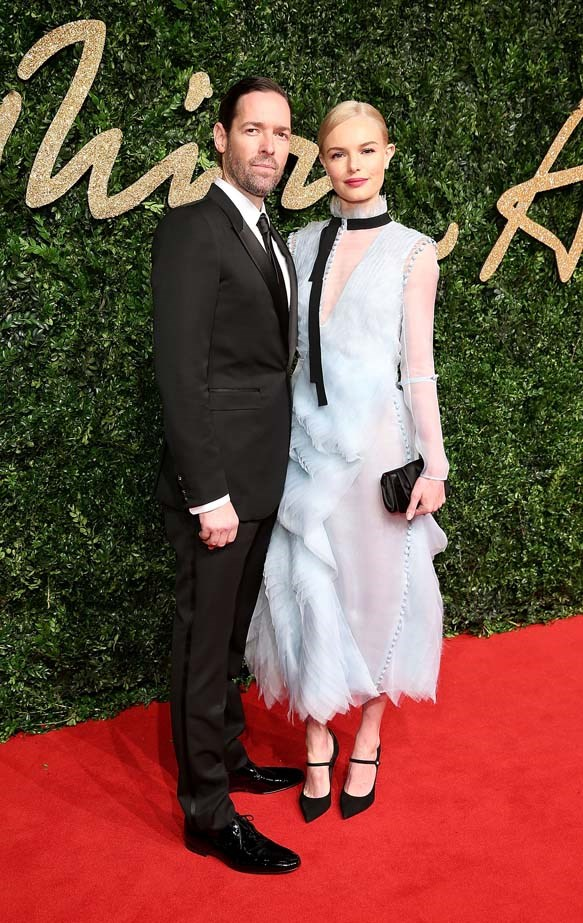 Kate Bosworth attends the British Fashion Awards.