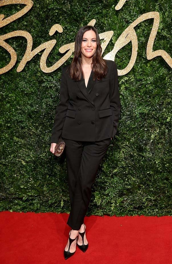 Liv Tyler attends the British Film Awards.