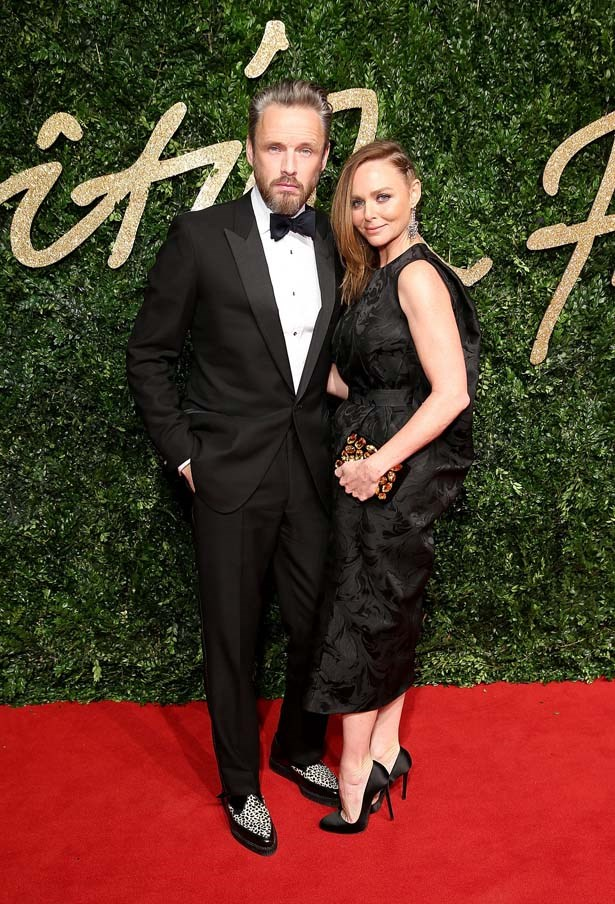 Stella McCartney attends the British Film Awards.