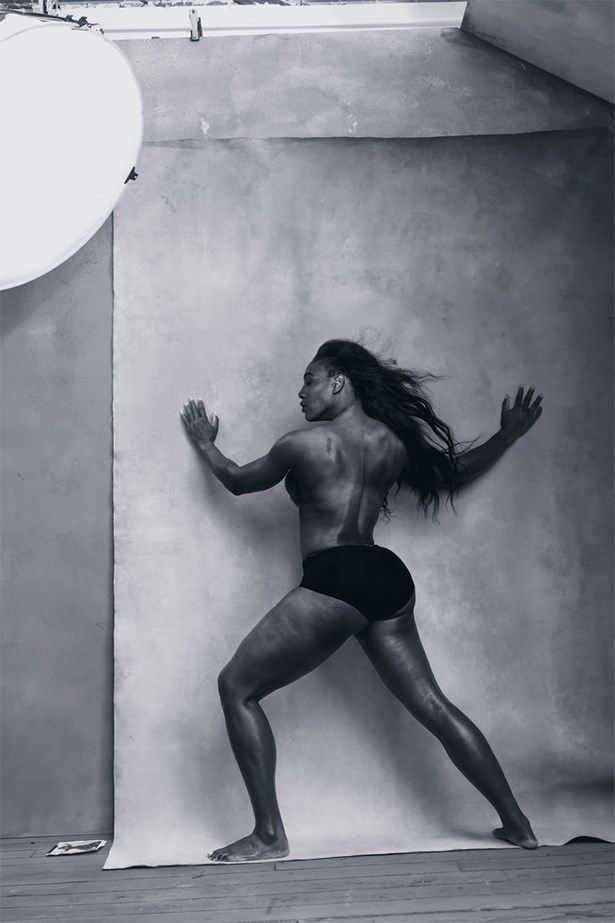 Serena Williams, April.