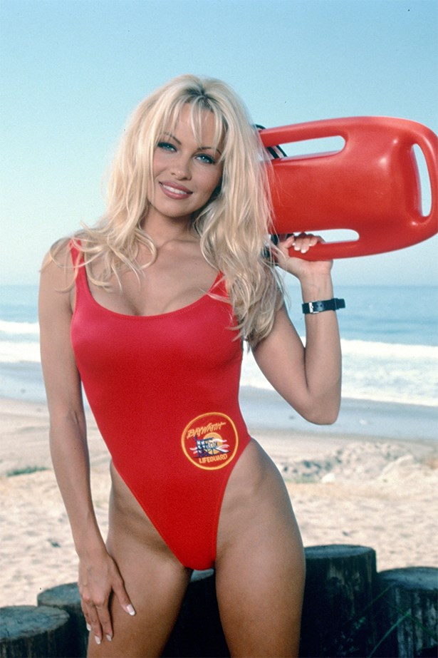 Pamela Anderson rocked the original one piece on <em>Baywatch</em>.