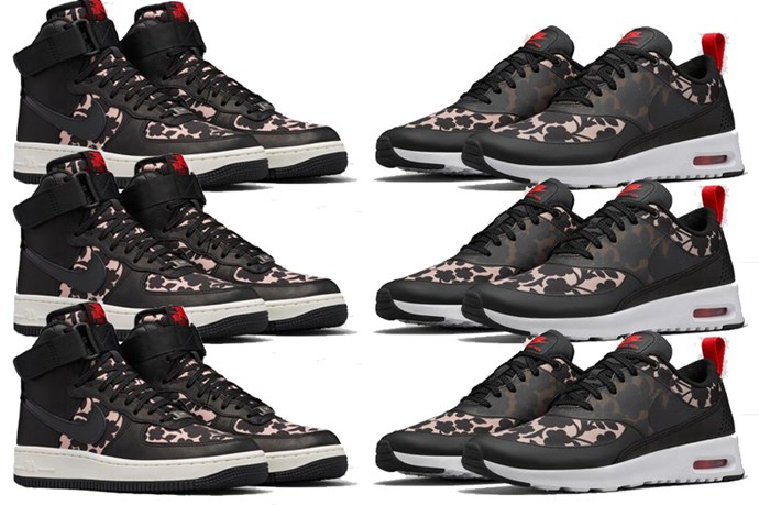 """<a href=""""http://news.nike.com/news/liberty-of-london-holiday-footwear-collection"""">Nike x Liberty London printed sneakers. </a>"""