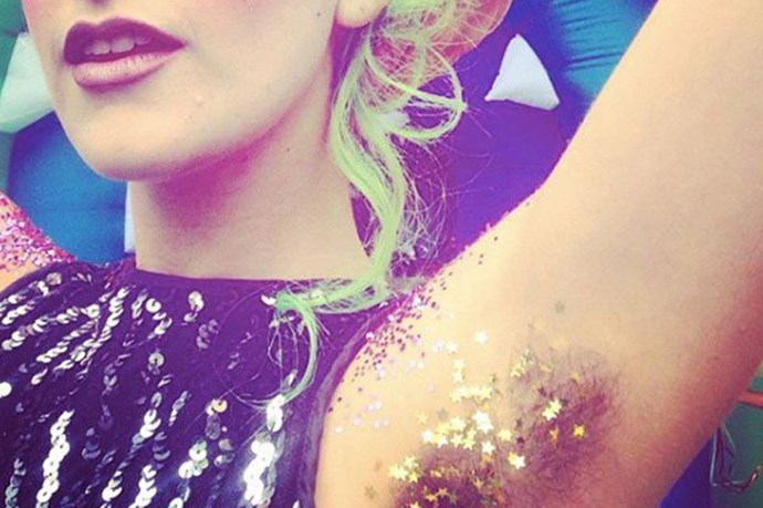 Glitter Armpits Are The Seasonal Beauty Trend To Get Behind