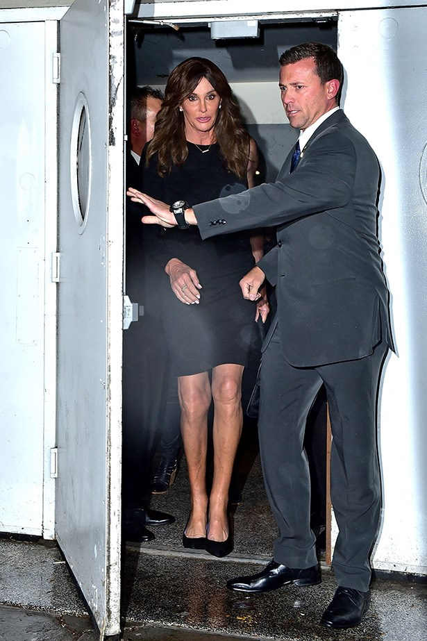 Caitlyn Jenner's has two handsome bodyguards on her crew.