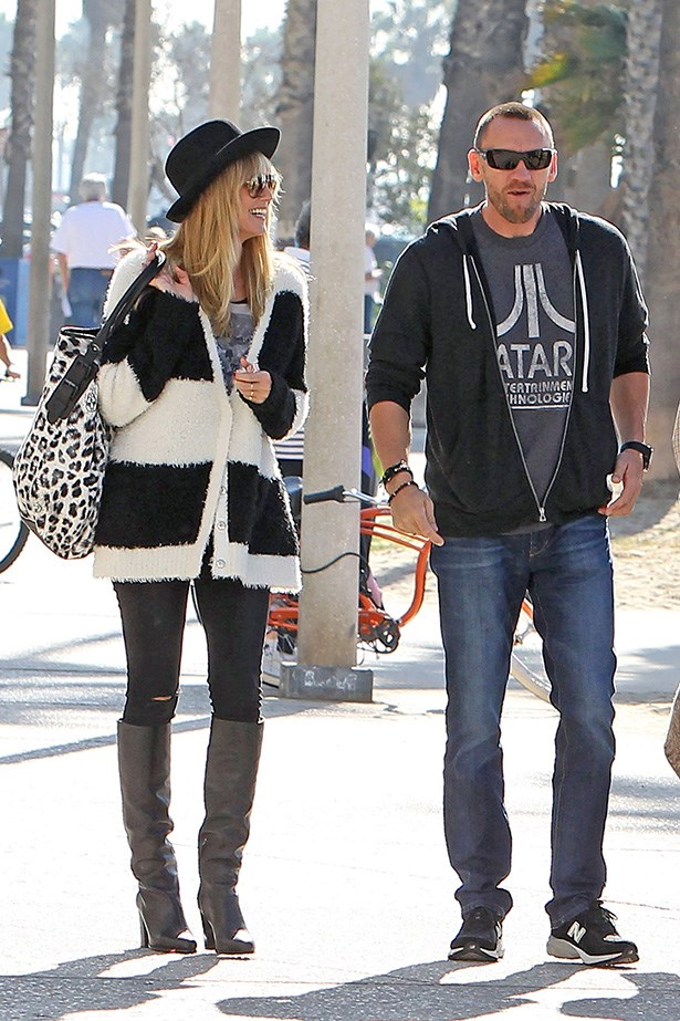 We all know what happened with Heidi Klum's bodyguard ... Image Getty