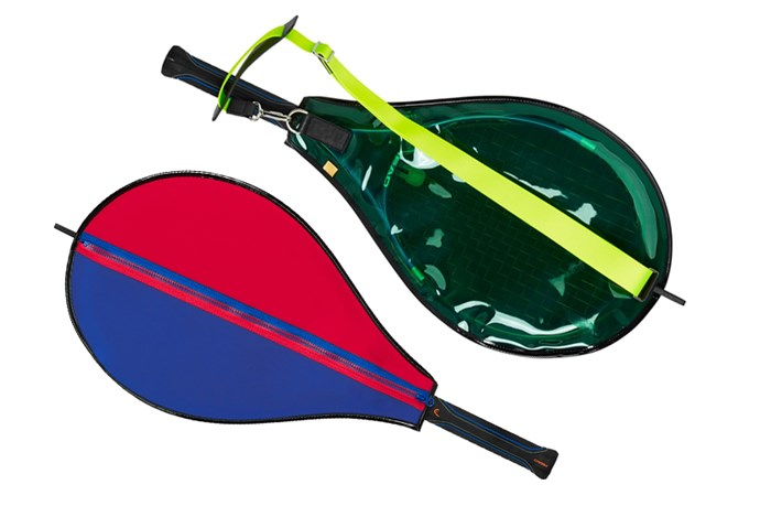 "<a href=""https://www.modesportif.com/shop/product/malika-tennis-bag-in-multi/"">Monteal London 'Malika' Tennis Bag in Multi, $450.00.</a>"