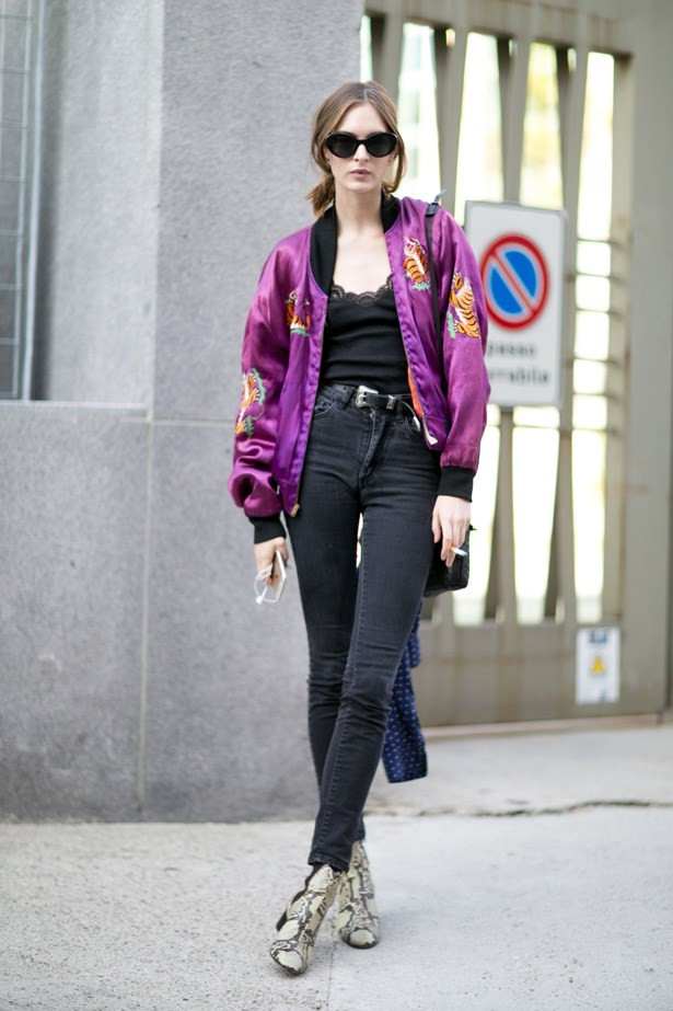 <p>3. Bomber jackets</p> <p>When Rosie Huntington-Whiteley first wore her Isabel Marant silk bomber jacket in LAX we knew it was going to be the jacket of the season.</p>