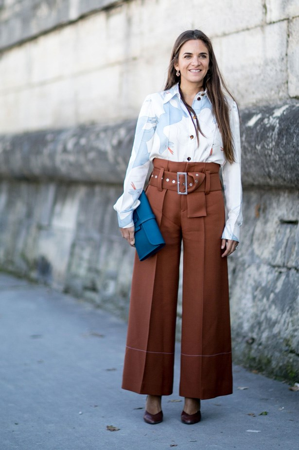 <p>18. Wide leg pants</p> <p>An obvious choice but we can't leave it out. We never thought we would be wearing anything other than skinny jeans if you had asked us in 2014.</p>