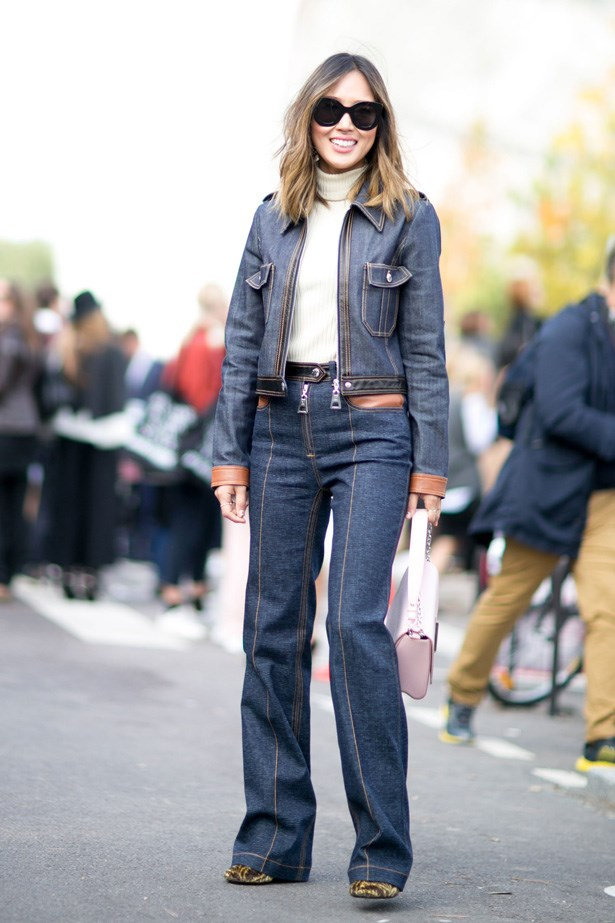<p>20. Denim with obvious stitching</p> <p>Last year, if you had told us that our new denim jacket would have brown stitching we would have laughed in your face but thanks to Louis Vuitton it's the only way to wear it in 2015.</p>