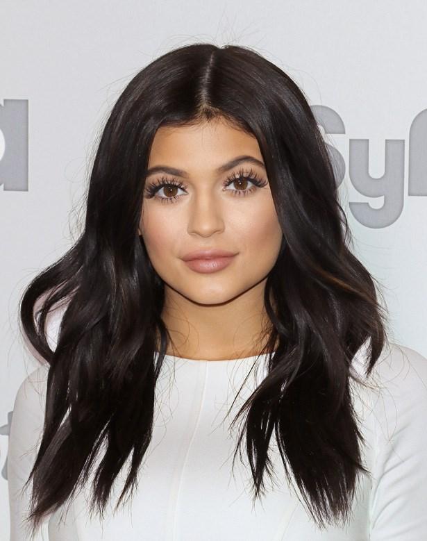 Kylie Jenner hair change