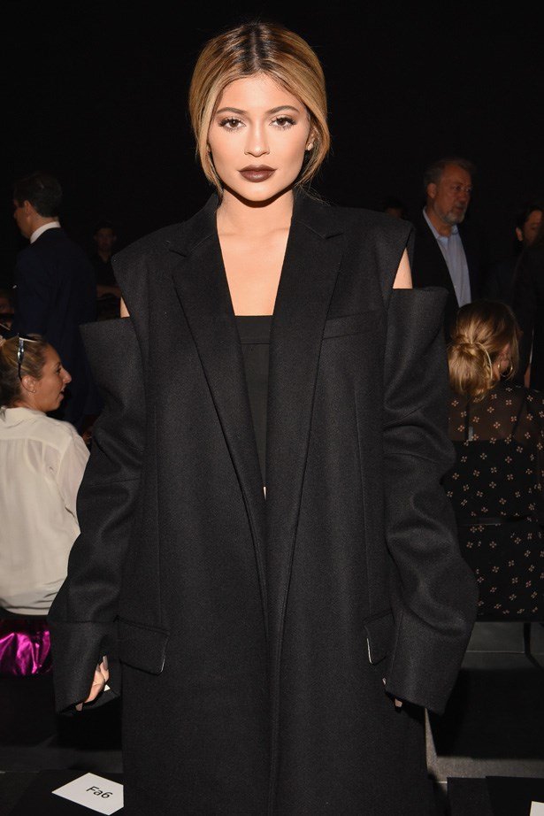 <p><strong>7. 15 September</strong></p> <p>Kylie Jenner flaunted her lighter locks at New York fashion week.</p>