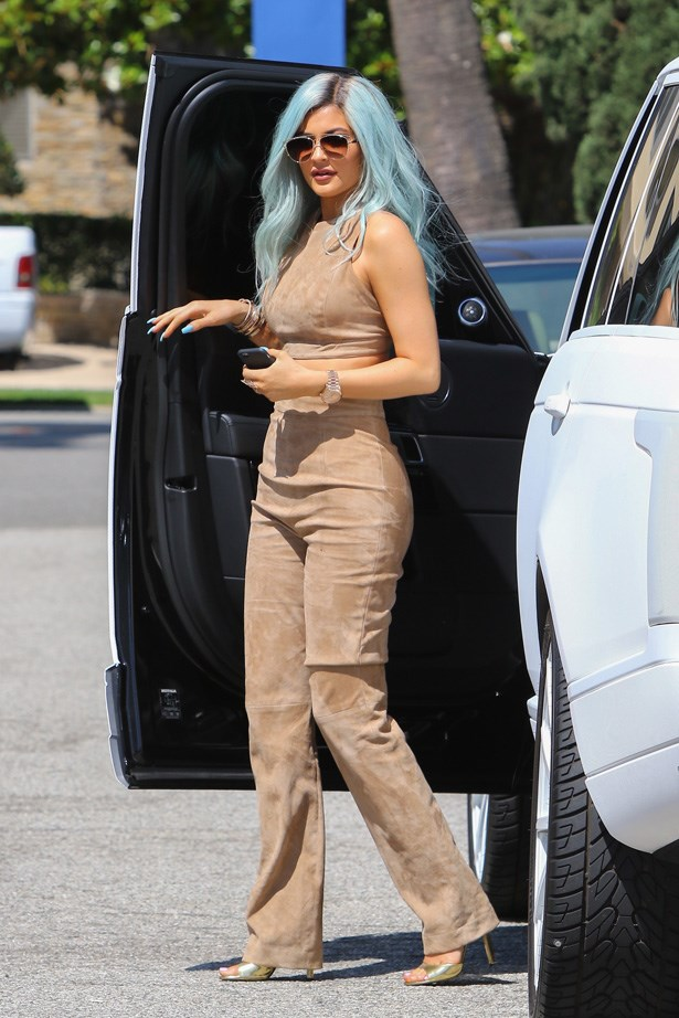 <p><strong>16. 3 July</strong></p> <p>Kylie's blue wig made serious headlines back in July.</p>