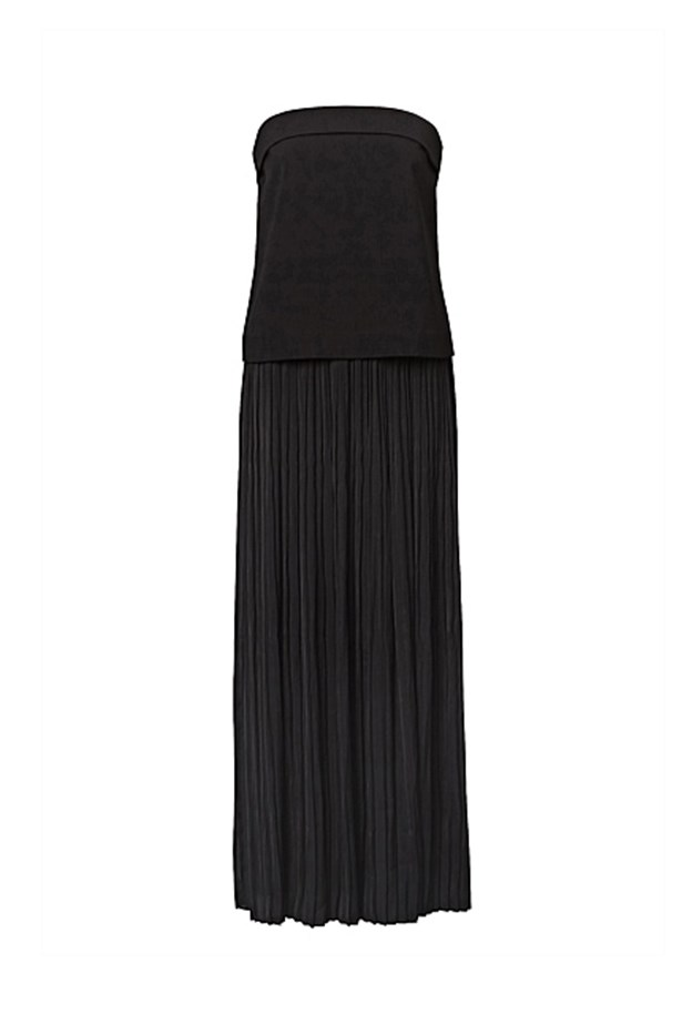 "Pleated bandeau dress, $149.95, <a href=""http://www.witchery.com.au/shop/new-in/woman/clothing/60188994/Pleated-Bandeau.html"">Witchery </a>"
