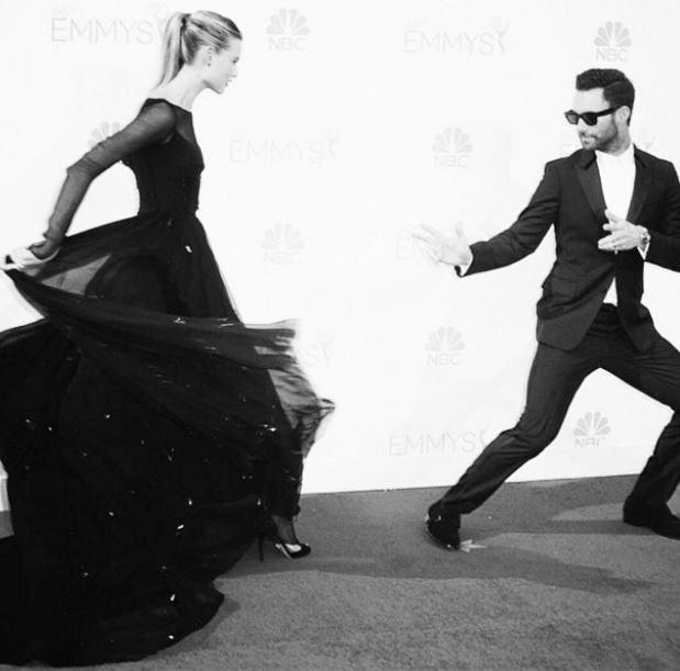 "<strong>Adam Levine, Lead Singer of Maroon 5, Husband of Behati Prinsloo</strong> <br> <br> <a href=""https://www.instagram.com/adamlevine/"">@adamlevine</a>"