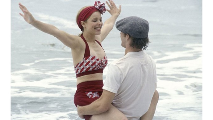 <strong>3. THE NOTEBOOK (2004)</strong> <br><br> The only thing more devastating than this movie? The fact that Noah and Allie (Rachel McAdams and Ryan Gosling) got together then broke up IRL. Still not over it.