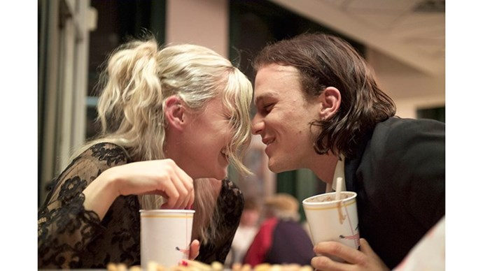 <strong>42. CANDY (2006)</strong> <br><br> Candy is arguably one of the great Australian love stories. A raw, sometimes dark look at a young heroin-addicted couple, played by a super young Abbie Cornish and Heath Ledger, it's totally heartbreaking.