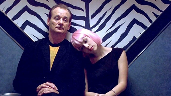 "<strong>50. LOST IN TRANSLATION (2003)</strong> <br><br> Sure, it's not strictly a ""love story"", but there's something so romantic about the interactions between Bill Murray and Scarlett Johansson in Sofia Coppola's Oscar-winning classic."