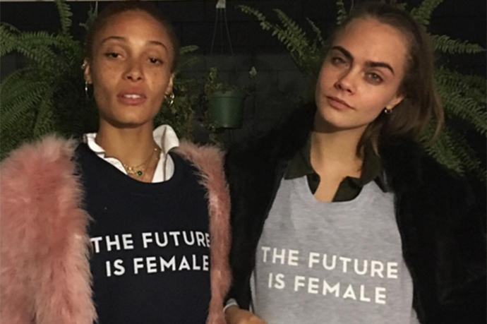 Cara Delevingne's Sweatshirt Is Causing Controversy