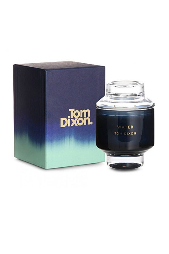 "<strong>WATER</strong>, $185, Tom Dixon Elements Scent, <a href=""http://www.safariliving.com/eclectic-by-tom-dixon-scent-water-medium"">safariliving.com</a> <br><br> Update your scent with this delicious combination of watermelon and amber musk."