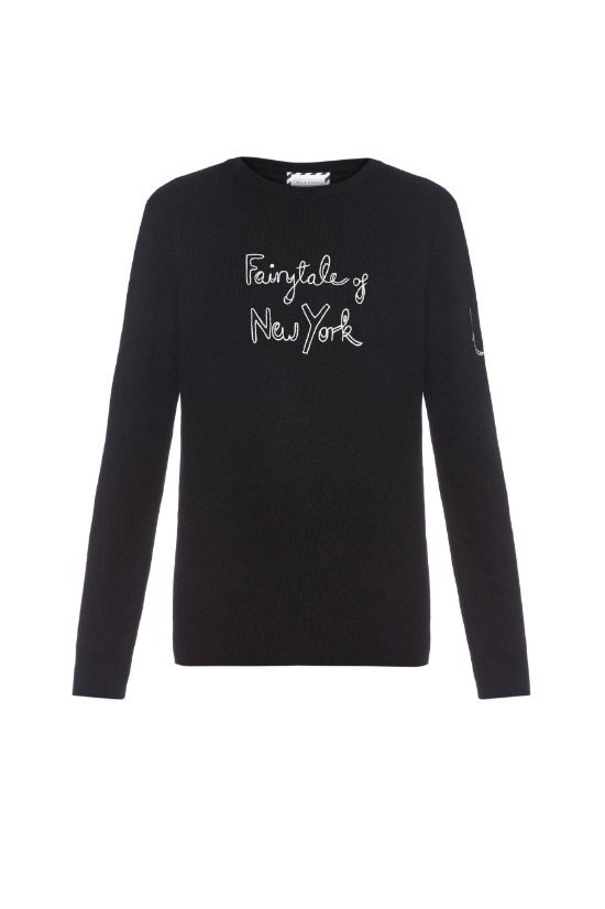 "<strong>Exclusive Bella Freud X Kate Moss sweater</strong>, $665, <a href=""http://www.matchesfashion.com/au/products/Save-The-Children-Bella-Freud-X-Kate-Moss-sweater-1046478"">matchesfashion.com</a> <br><br> £100 (approx. AU$207) from each sale goes towards the Fashion Saves Lives campaign."