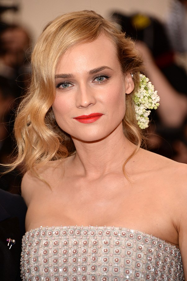 <strong>4th May </strong> <br><br><strong>Diane Kruger</strong> looks picture perfect at the <strong>2015 China: Through The Looking Glass Met Gala</strong>.