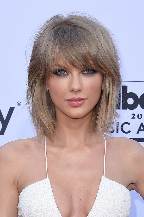 <strong>17th May </strong> <br><br>Kohl-rimmed eyes and a new shaggy lob cemented <strong>Taylor Swift's</strong> '<em>Bad Blood'</em> rock aesthetic at the <strong>2015 Billboard Music Awards</strong>.