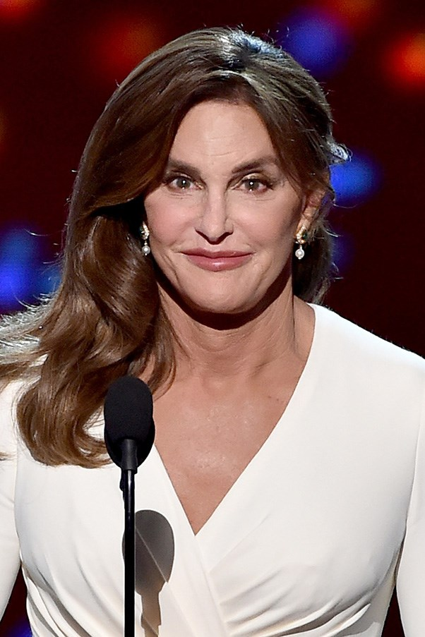 <strong>15th July </strong> <br><br><strong>Caitlyn Jenner</strong> opts for a glamorous look with a smoky eye and tousled hair while accepting the <strong>Arthur Ashe Courage Award</strong> onstage during the <strong>2015 ESPYS</strong>.