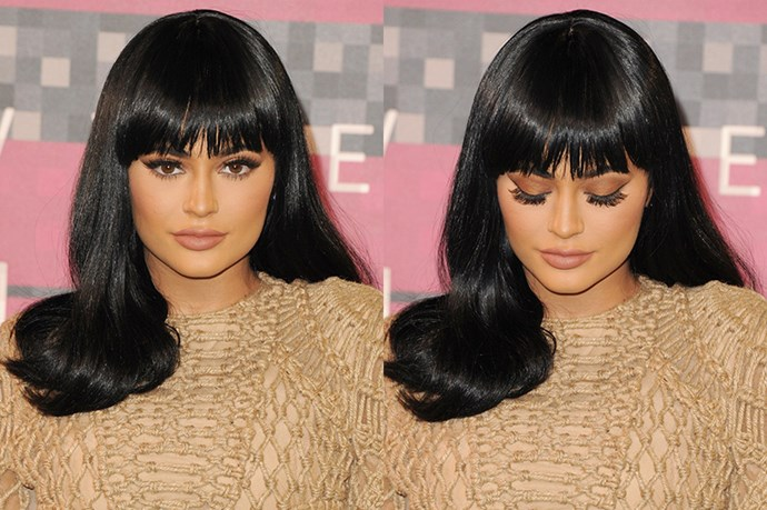 <strong>30th August </strong> <br><br><strong>Kylie Jenner</strong> goes for gold with shimmery shadow and sun kissed skin at the <strong>ESPYs</strong>.