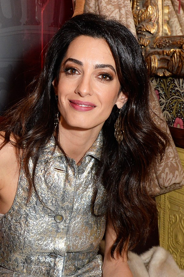 <strong>3rd December </strong> <br><br>A sexy smouldering eye and rosy lips finish off <strong>Amal Clooney's </strong>glam look for <strong>Charlotte Tilbury's Naughty Christmas Party</strong>.