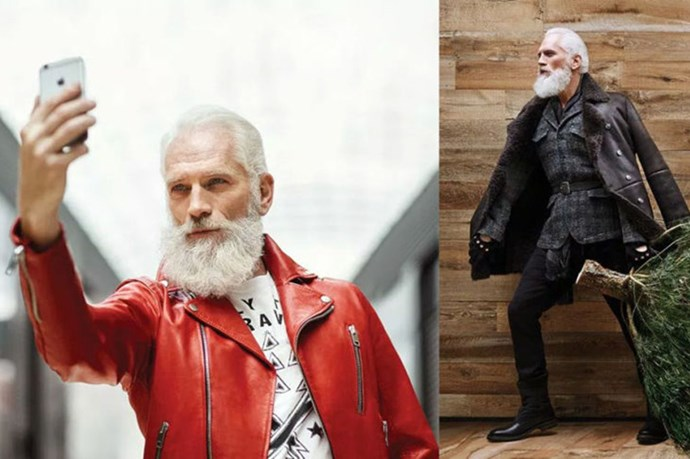 Yes, Fashion Santa Is A Thing