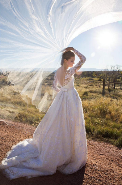 ALLISON WILLIAMS After delaying her wedding earlier this year, Allison Williams got secretly married to CollegeHumor co-founder Ricky Van Veen in September. She chose an elegant Oscar de la Renta gown for the occasion. INSTAGRAM