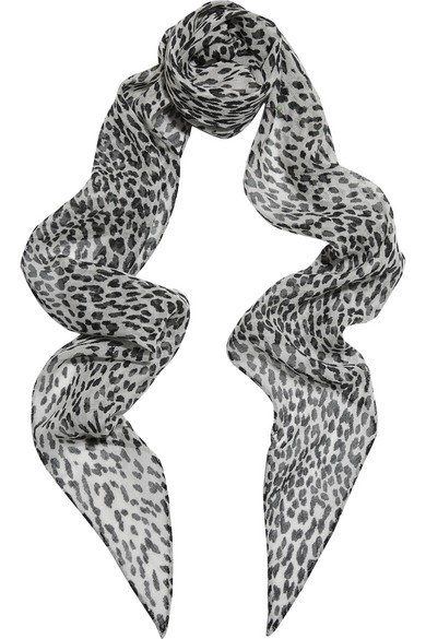 "<strong>SAINT LAURENT ANIMAL LEOPARD PRINT SCARF</strong> <br><br> <a href=""http://www.net-a-porter.com/au/en/product/590731?cm_mmc=LinkshareUK-_-TnL5HPStwNw-_-ProductSearchUS_PLA_c-_-Saint+Laurent-_-Accessories-Scarves-Scarves-_-80344675987_590731-005&gclid=CNCkk9Wp0skCFYcWHwodxI8PxA&siteID=TnL5HPStwNw-m3lfIxnhO5aTdVi598wouQ"">www.net-a-porter.com</a>"