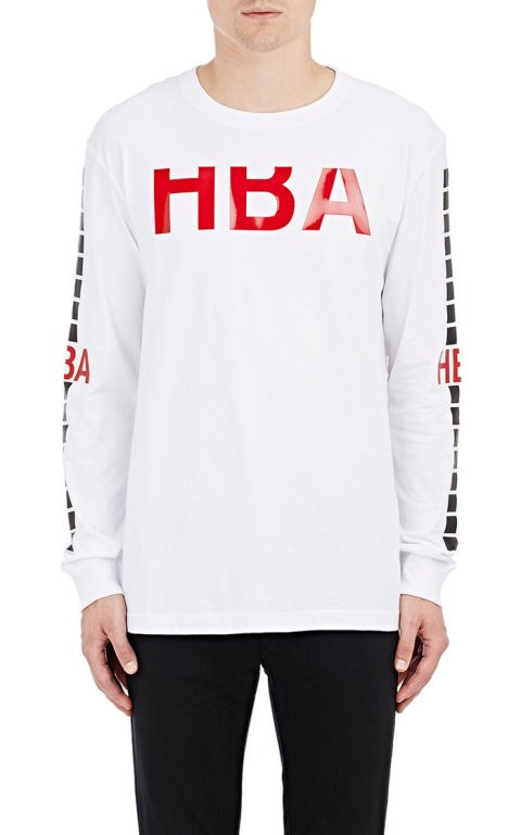 "<strong>HOOD BY AIR T-SHIRTS</strong> <br><br> <a href=""http://www.barneys.com/Hood-by-Air-Detroit-Rehab-Long-Sleeve-T-Shirt-504147137.html?utm_source=google&utm_medium=cpc&campaignid=287293481&adgroupid=21684774281&product_id=00505041471432&product_partition_id=105080247125&cmpgntype=pla&gclid=CIzkxIOk0skCFVYYHwody7YHcA&utm_source=TnL5HPStwNw&utm_medium=affiliate&siteID=TnL5HPStwNw-3phdnhVyRPuM67Izb3rHMg"">www.barneys.com</a>"