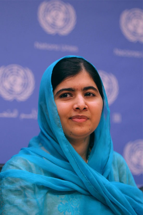 """<strong>Malala Yousafzai</strong> <br><br> <em>He Named Me Malala</em>, the documentary about 18 year-old advocate for education Malala Yousafzai, was released this year. It tells Malala's story, from being shot by the Taliban for her beliefs, to her <a href=""""https://secure.aworldatschool.org/page/content/the-text-of-malala-yousafzais-speech-at-the-united-nations/"""">inspiring speech</a> at the Youth Takeover of the United Nations. <a href=""""http://www.elle.com.au/news/zeitgeist/2015/11/emma-watson-interviews-malala-yousafzai/"""">Emma Watson interviewed Malala</a> this year at the Into Film Festival and discussed their shared passion for making feminism a more approachable concept to more people. <br><br> Malala became the youngest ever recipient of the Nobel Peace Prize in December 2014."""