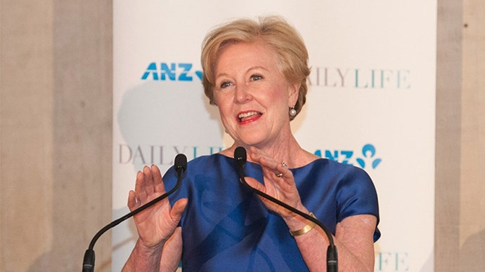 """<strong>Gillian Triggs</strong> <br><br> Gillian Triggs, President of the Australian Human Rights Commission, was named the <a href=""""http://www.dailylife.com.au/dl-women-of-the-year/professor-gillian-triggs-named-daily-life-woman-of-the-year-for-2015-20151207-glhe2o.html"""">2015 Woman of the Year</a> last week by <em>Daily Life</em>. Triggs has been championing the fight against human rights abuses in detention centres, <a href=""""http://www.dailylife.com.au/dl-women-of-the-year/why-gillian-triggs-is-daily-lifes-2015-woman-of-the-year-20151207-glha58.html"""">despite pushes from government to resign</a>."""