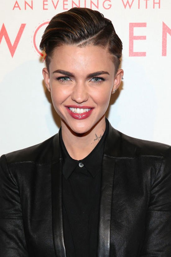 "<strong>RUBY ROSE</strong> <br><br> The Australian model and TV host carved out a name for herself in the U.S. with a starring role in Netflix's <em>Orange Is the New Black</em>. Rose also earned headlines this week after <a href=""http://www.cosmopolitan.com/entertainment/news/a50794/ruby-rose-and-phoebe-dahl-breakup/"">reports surfaced</a> that she and her girlfriend Phoebe Dahl called it quits."