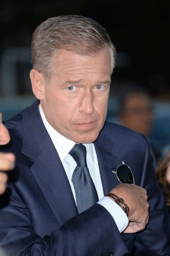 <strong>BRIAN WILLIAMS</strong> <br><br> The NBC <em>Nightly News</em> anchor was suspended for six months starting in February after exaggerating a story about his travels in a military helicopter during the Iraq war. He returned in September, but in a diminished capacity as breaking news anchor on MSNBC.
