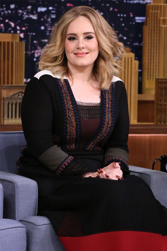 "<strong>ADELE</strong> <br><br> The British pop star released a surprise album, 25 - which includes the single ""Hello"" - that shattered the record for <a href=""http://www.cosmopolitan.com/entertainment/music/news/a50068/adele-biggest-sales-week-in-history/"">selling the most albums in a week</a>, <em>ever</em>."